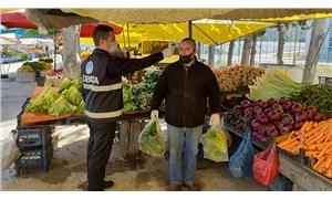 Samsun'un Çarşamba ilçesinde pazar yerleri koronavirüs nedeniyle kapatıldı