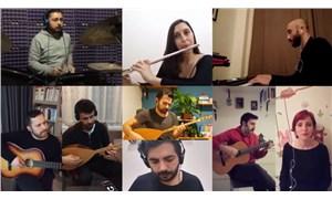 Heyula'dan karantina günleri için şarkı