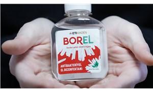 Bordan üretilen yerli dezenfektan BOREL yarın satışa çıkıyor