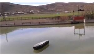 Çoruh Nehri'nde yüzen tabutlar panik oluşturdu
