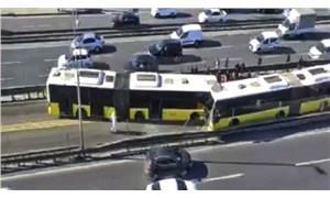 Avcılar'da iki metrobüs çarpıştı: 4 yaralı