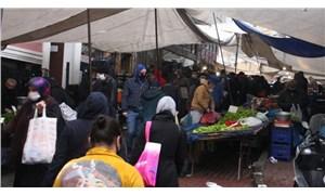 Semt ve mahalle pazarlarında denetim: 3 metre kuralına uymayanlara ceza