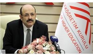 YÖK Başkanı Saraç, Yükseköğretim Kanunu hakkında konuştu