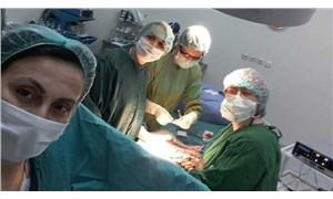 Aliağa Devlet Hastanesi'nde idari personel doğum ameliyatına girdi