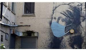Banksy'den 'İnci Küpeli Kız' portresine korona güncellemesi