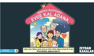 Adana Büyükşehir'den '01Evdekal' web sitesi