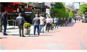 Ankara'da ucuz et kuyruğu