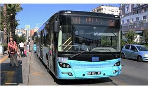 Antalya'da toplu ulaşıma sokağa çıkma yasağı düzenlemesi