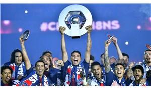Fransa'da PSG şampiyon ilan edildi