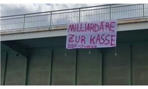 Almanya'da 1 Mayıs gösterilerine polis müdahale etti
