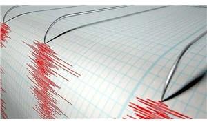 Akdeniz'de 6,3 büyüklüğünde deprem