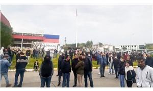 Çiğli Organize Sanayi Bölgesi'nde çalışan işçiler: Korkuyoruz ama ekmek parası