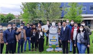 CHP Gençlik Kolları'ndan YKS protestosu