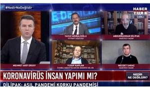 Abdurrahman Dilipak, Habertürk'te: Covid-19 aşısı bahanesiyle kısırlaştıracaklar