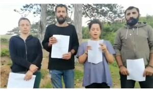 Kazdağları direnişçilerine koronavirüs bahanesiyle ceza yağdı