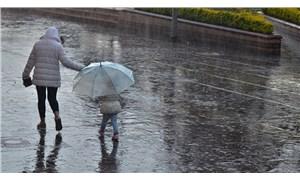 Meteoroloji'den 12 il için sağanak uyarısı