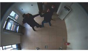 TİSKİ Genel Müdürü'ne yumruklu saldırı anı güvenlik kamerasına yansıdı