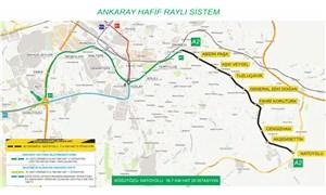 Ankara'ya yeni metro hattı: Dikimevi-Natoyolu metro hattı için kollar sıvandı
