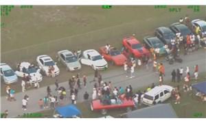 Florida'da sokak partisine polis baskını