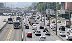 4 günlük yasağın ardından İstanbul'da trafik yoğunluğu