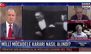 Fatih Altaylı'dan 19 Mayıs'ta Vahdettin'i anan Burhan Kuzu'ya: Eroin kaçakçısını destekleyen bir profesör