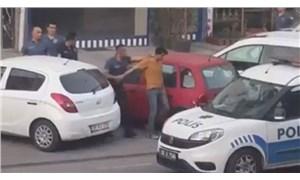 Kayseri'de balkonuna İngiliz bayrağı desenli havlu asan kişi gözaltına alındı