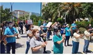 Sağlıkçılardan Sağlık Bakanlığı'na 'ek ödeme' protestosu