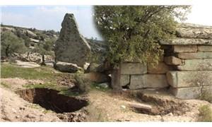 Gerga Antik Kenti define avcıları tarafından katlediliyor
