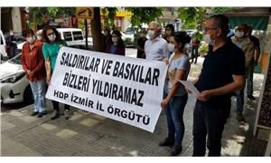 HDP İzmir İl Örgütü'nden gözaltılara tepki