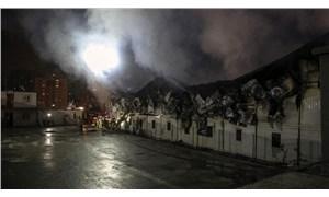 Şantiyede yangın: 1 işçi hayatını kaybetti, 5'i yaralandı