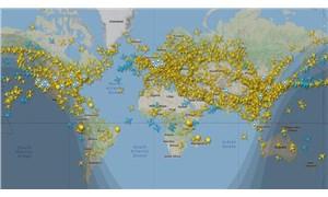 Dünyada günlük uçuş trafiğinde artış:  100 bini geçti