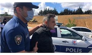 Kadınları taciz eden adam kovalamacada kaza yapınca yakalandı