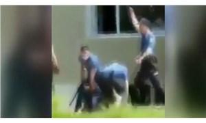 Polis şiddeti bu kez Edirne'de görüntülendi