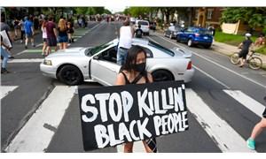 ABD'de George Floyd'un polis tarafından öldürülmesine tepki: 'Siyah insanları öldürmeyi bırakın'