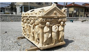 Antik Roma dönemine ait lahitte, Truva Savaşı'nın tasvir edildiği belirlendi