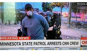 CNN'in siyah muhabirine canlı yayında ters kelepçeyle gözaltı