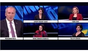 Haber Global'den Muharrem İnce'nin canlı yayını terk etmesi sonrası açıklama