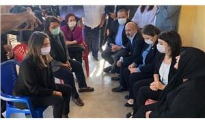 CHP heyeti Şenpınar için Maraş'a gitti