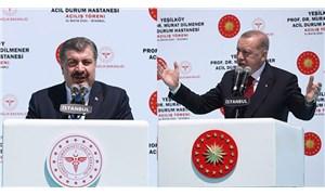 Erdoğan ve Koca'dan 'salgın' açıklamaları