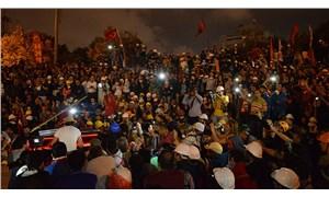 Karanlık gider Gezi kalır