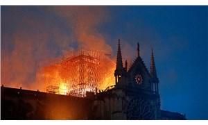 Notre Dame Katedrali'nin avlusu yangından sonra ilk kez halka açıldı