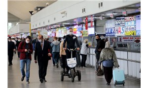 AŞTİ'de seyahat sınırlamasının kaldırılmasının ardından yoğunluk yaşandı