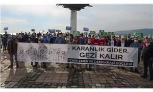 İzmir'de Gezi anması: Gezi, dayanışmanın yeryüzüne çizilmiş en güzel resmidir