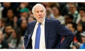 Spurs koçu Popovich: Trump'ın beyni olsa insanları birleştirmeye çalışırdı