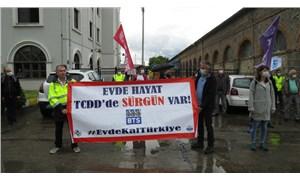 TCDD'de sürgün edilen işçiler: Bizim sürgün edilmemiz İzmir halkının hayatını riske atıyor