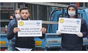 PTT emekçileri salgına karşı korumasız