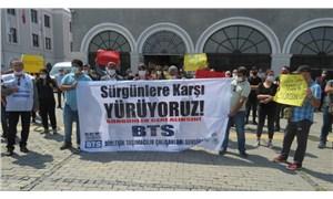 TCDD'de sürgün edilen emekçilerin İzmir'den Ankara'ya yürüyüşü başladı
