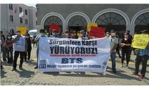 Demiryolu emekçileri Ankara'ya yürüyor