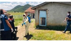 Mahalleye ziyarete giden kadın ve görüştüğü 11 kişide virüs tespit edildi