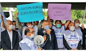Demiryolcular sürgüne karşı Ankara'ya yürüdü